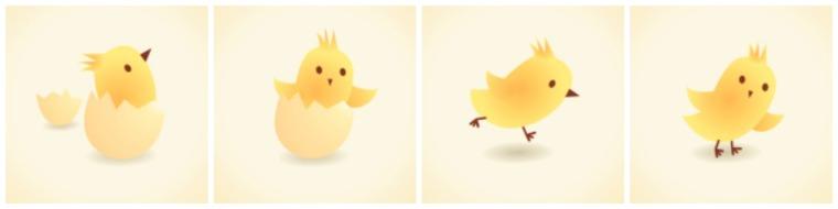 El pollito Limón